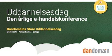 DanDomains Store Uddannelsesdag - Aarhus tickets
