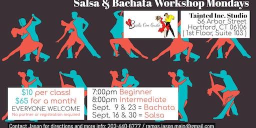 Salsa & Bachata Dance Workshops