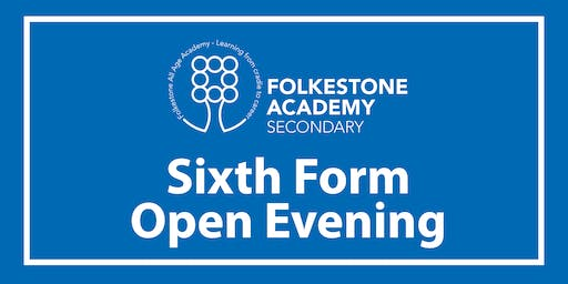 Folkestone Academy Sixth Form Open Evening 2019