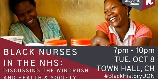 Black Nurses in the NHS: Discussing The Windrush and Health & Society