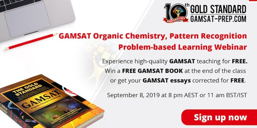 Free GAMSAT Organic Chemistry, Pattern Recognition PBL
