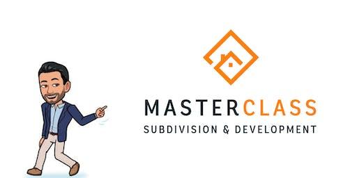 Subdivision & Development Masterclass