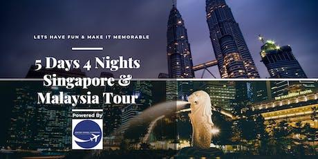 5D4N Singapore & Malaysia Fun Family Tour tickets