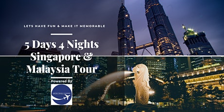 5D4N Singapore & Malaysia Fun Family Tour tickets