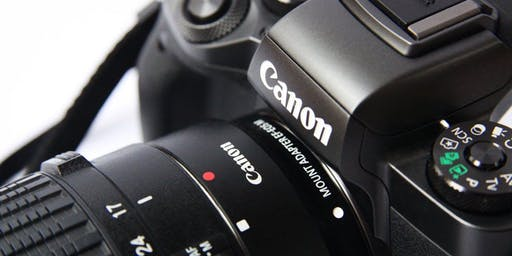 CANCELLED - Introduction to digital photography (3 week course - 16/10/19, 23/10/19 & 30/10/19)