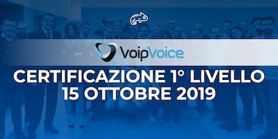 Corso di Certificazione Primo Livello VoipVoice Firenze