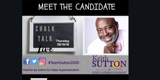 Goldsboro: Meet & Greet Candidate Keith Sutton for NC State Superintendent