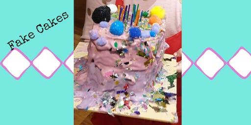 Fake Cakes - School Holiday Program