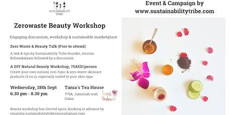 Zero Waste Beauty Workshop tickets