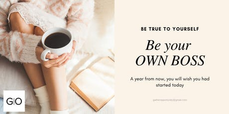 Be employer not employee; be your own Boss tickets