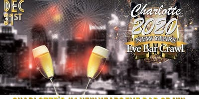 Charlotte NYE Bar Crawl
