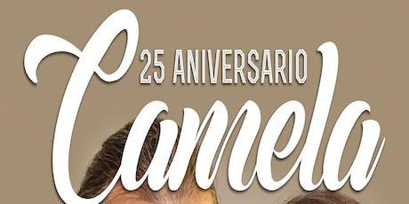 CAMELA 25 aniversario en Úbeda, Jaén entradas