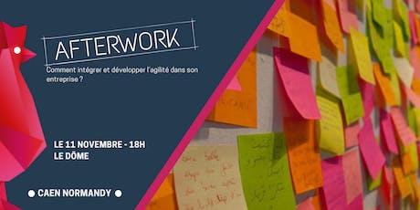 Afterwork #3 : Comment intégrer et développer l'agilité dans son entreprise billets