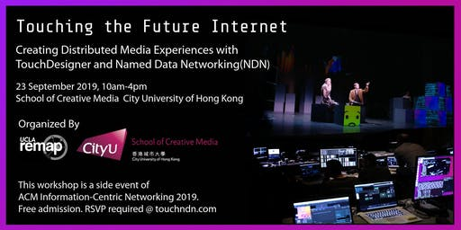 Touching the Future Internet: Creating Distributed Media Experiences with TouchDesigner and Named Data Networking