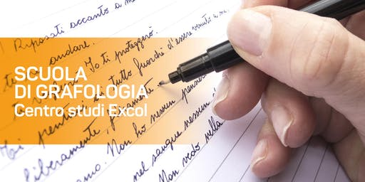 Scuola di grafologia: presentazione anno formativo 2019/2020