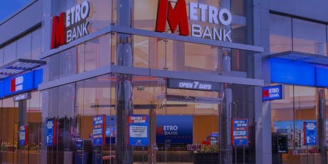 Metro Bank in Partnership with Developing The Inner You tickets