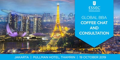 ESSEC Global BBA academic consultation - Oct 2019 - Jakarta, Indonesia