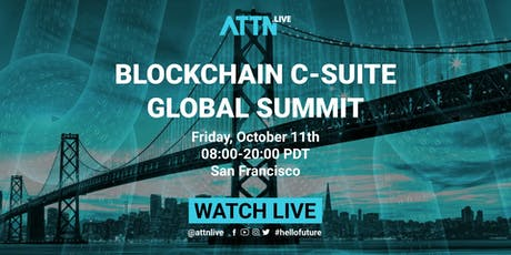 Blockchain C-suite Global Summit tickets