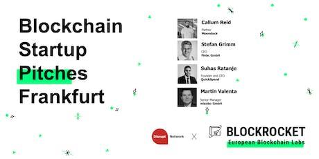Blockchain Startup Pitches - Frankfurt Tickets