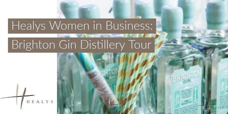 Women in Business - Brighton Gin Distillery Tour tickets