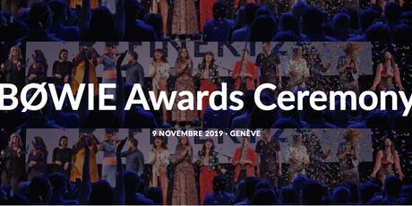 BØWIE Awards Ceremony tickets