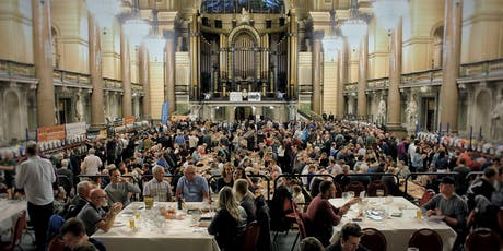 VOLUNTEERS St George's Hall Beer Festival, September 2019 tickets