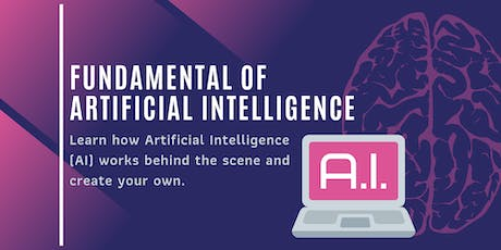 Fundamental of Artificial Intelligence (AI) tickets
