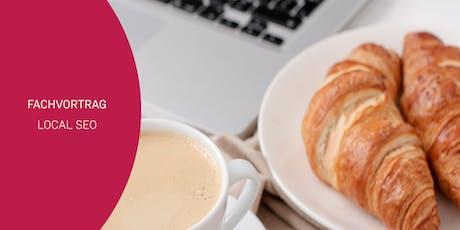 Business-Frühstück - Fachvortrag Local SEO Tickets