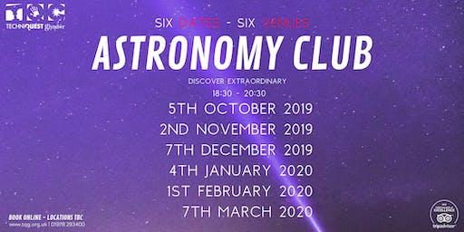 Astronomy Club - 2019/20
