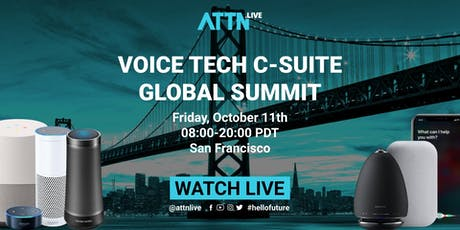 Voice Tech C-suite Global Summit tickets