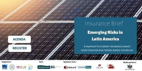 Insurance Brief - Emerging Risks in Latin America tickets