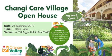 Changi Care Village Open House Day tickets