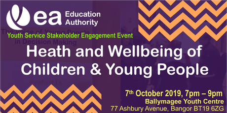 Stakeholder Engagement - The Health & Wellbeing of Children & Young People tickets
