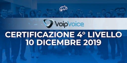 Corso di Certificazione Quarto Livello VoipVoice Firenze