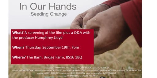 In Our Hands film screening