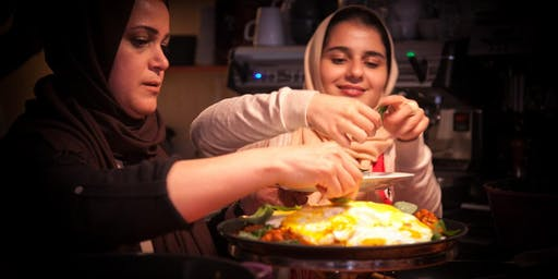 Iranian cookery class with Elahe and Parastoo (Vegetarian)