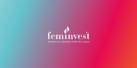 Feminvest aktieklubb i Uppsala tillsammans med Hera Hub tickets
