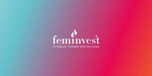 Feminvest aktieklubb i Uppsala tillsammans med Hera Hub