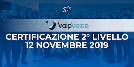 Corso di Certificazione Secondo Livello VoipVoice Firenze tickets