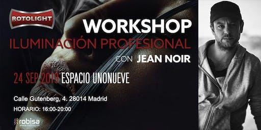 WORKSHOP  ROTOLIGHT con JEAN NOIR, ILUMINACIÓN PROFESIONAL, MADRID