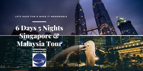 6D5N Singapore & Malaysia Fun Family Tour tickets