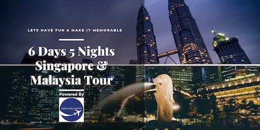 6D5N Singapore & Malaysia Fun Family Tour