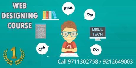 Website Designing Training : Call 9212649003 tickets