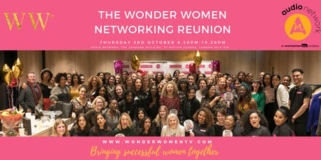 The Wonder Women Networking Reunion - Bringing Successful Women Together tickets