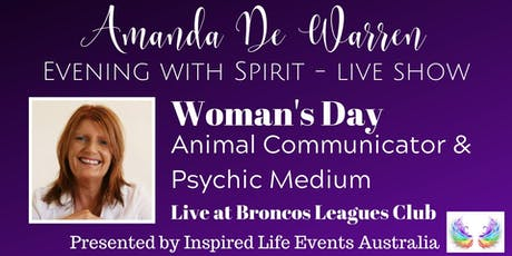 Amanda De Warren - Evening with Spirit tickets