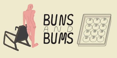 BUNS and BUMS - Life drawing & Bun Brunch tickets