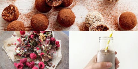 Learn to make raw chocolate and treats tickets