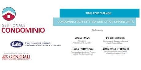 Corso Buffetti Gestionale Condominio Cloud (A PAGAMENTO) biglietti
