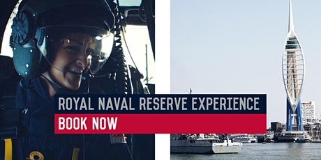 Royal Naval Reserve Experience - HMS King Alfred, Portsmouth - 18/01/20 tickets