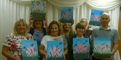 ColourWheel Paint Party -  Blossom Time -  17th September